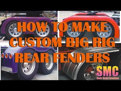 How to Make Custom Truck Fenders