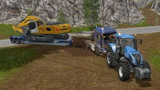 Farming Simulator 17 - Forestry and Farming on Goldcrest