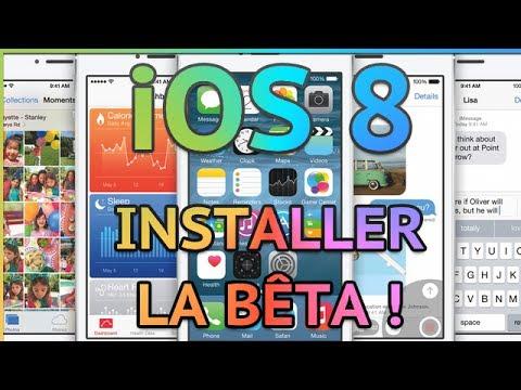 Installer l'iOS 8 bêta sur son iPhone, iPod Touch ou iPad