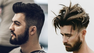 Top 15 Most Handsome Hairstyles For Men 2017-2018-Super Sexiest Haircut & Hairstyles 2017-2019