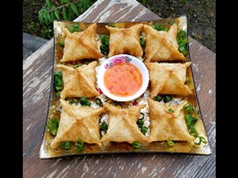 Crab Rangoon ( Cream Cheese Wontons ) Recipe