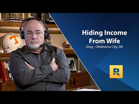 I Am Hiding My Income From My Wife