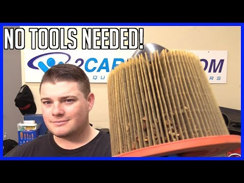 How to Replace Air Filter Ford F-150 4.6L V8 1997–2003 | With NO Tools!