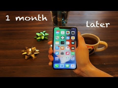 1 Month with the iPhone X!!!!!