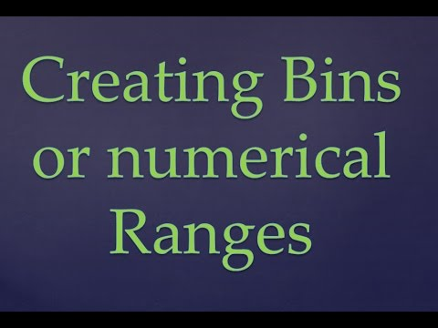 R Programming|| Creating bins or ranges from numeric data in R Programming ||  R Bins || R Ranges