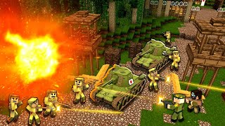Minecraft WW2 - THE TIGER TANK! - S3E13 (Heroes and Generals