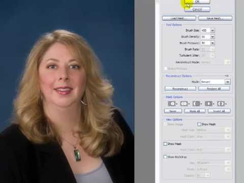 Photoshop Face Slimming Tutorial