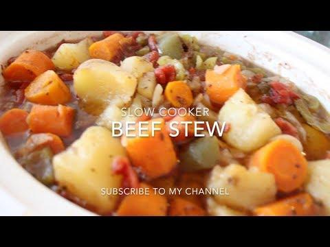 Easy Homemade Beef Stew - Crock Pot 2017
