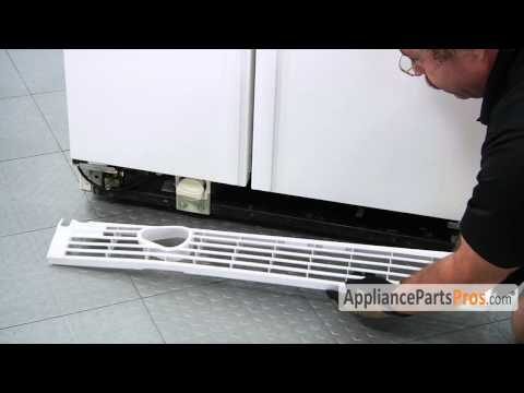 Refrigerator Kickplate Grille - How To Replace