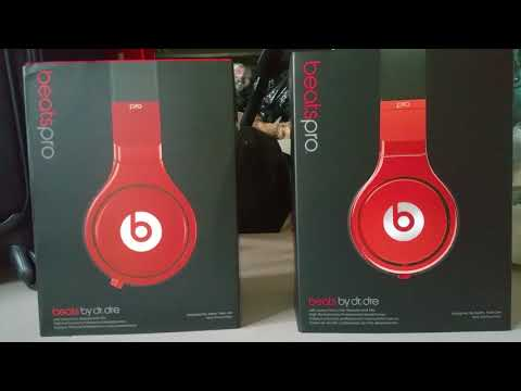 BEATS PRO LIL WAYNE FAKE VS AUTHENTIC PACKING