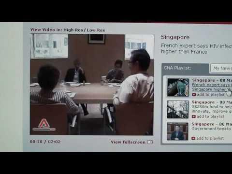 Singapore Criticized For Lack Of Free HIV Treatment