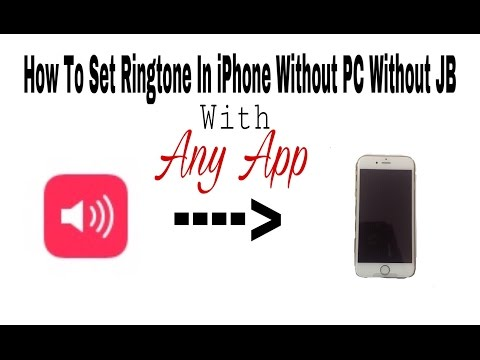 How To Make Custom Ringtones For iPhone Without iTunes Music
