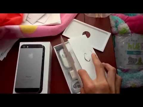 iPhone 5s Unboxing 2015 (Ebay) Space Gray 16GB