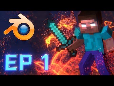 Minecraft Animation Tutorial Episode 1: Getting Started (Blender)