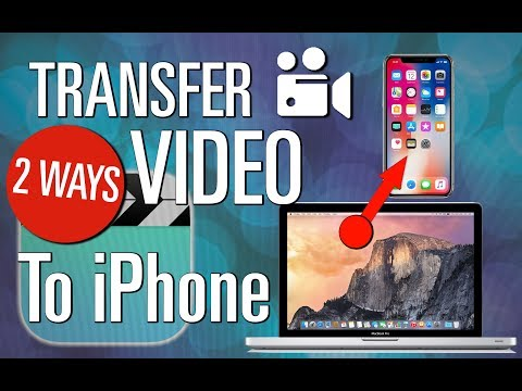 2 WAYS on how to transfer video or movie to iphone or ipad
