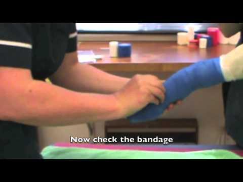 Bandaging techniques - limb