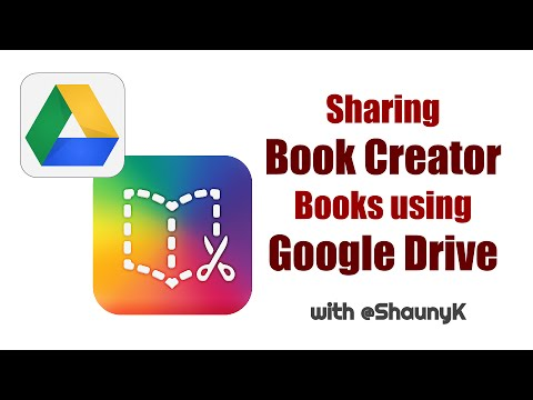 Sharing Book Creator Books using Google Drive -