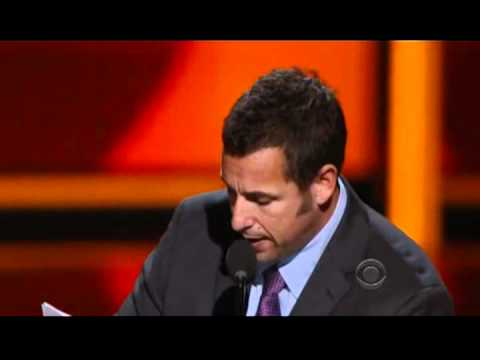 Adam Sandler's Acceptance Speech - People's Choice Awards 2012