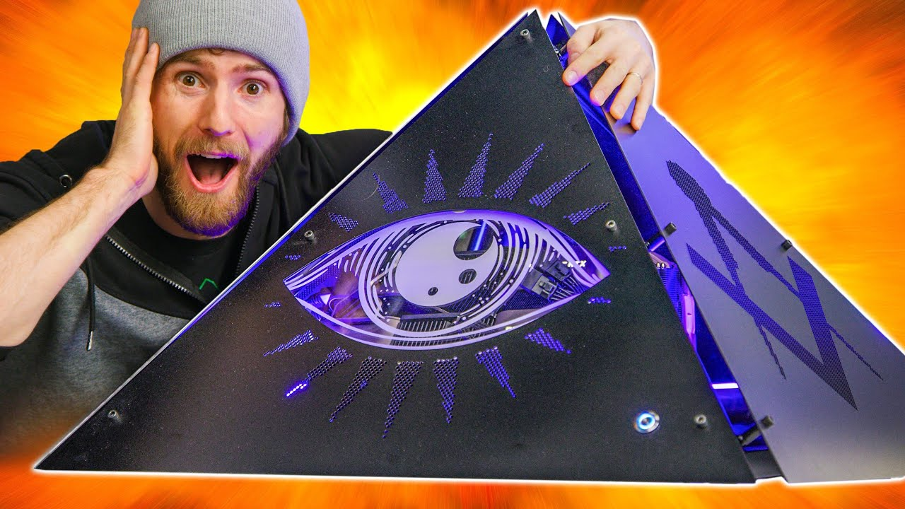 Our Craziest PC Yet – Pyramid PC Pt. 3
