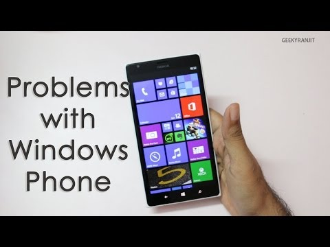Problems & Issues with Windows Phone
