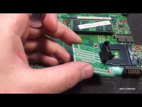★ Ремонт ноутбука - Диагностика отвала сокета процессора How to check processor socket