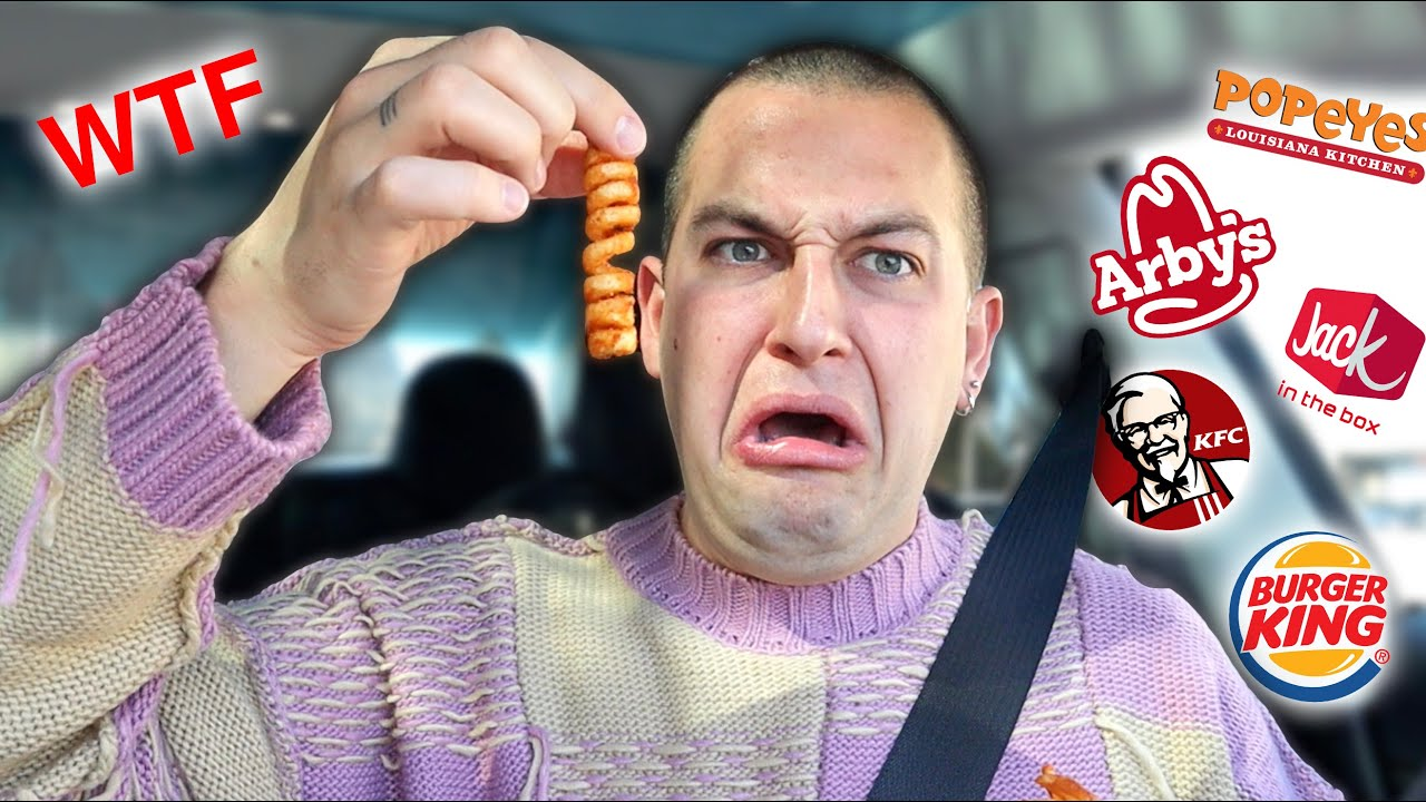 Fast Food French Fry Taste Test (PART 2)