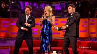 Tom Cruise and Zac Efron Have A  Dance Party - The Graham Norton Show