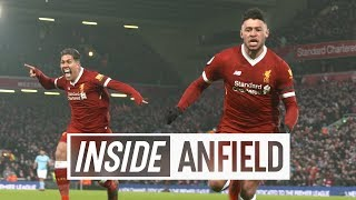Inside Anfield: Liverpool 4-3 Man City | Unseen tunnel cam from seven-goal thriller