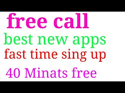 free call fast time sing up 38 minutes india Bangladesh pakistan new app 2017