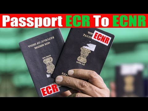 How To Change ECR Passport To ECNR Passport