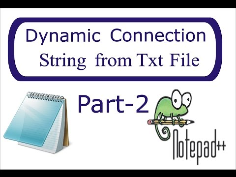 Get Connection String from .txt File   Step by Step    Part-2