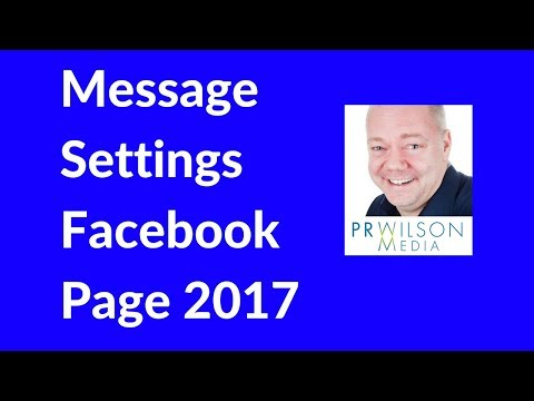 Facebook page messages 2017
