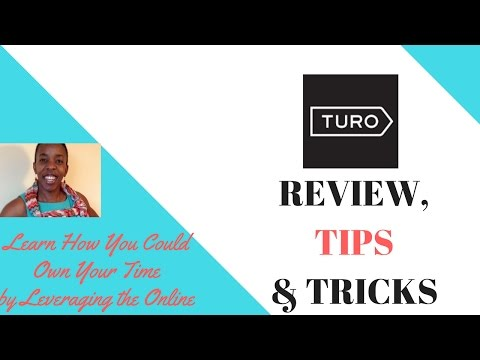 Turo Car Rentals Review, Tips & Tricks | How to make money with your car  | The airbnb of cars