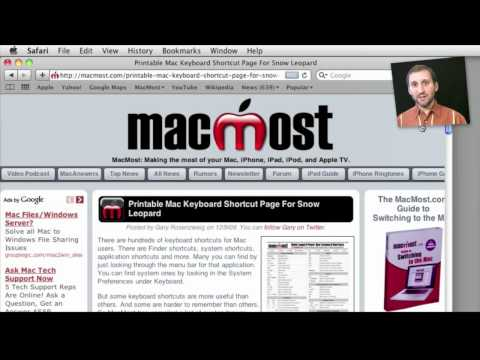 The Mac OS X Downloads Folder (MacMost Now 439)