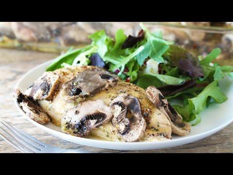 How to Make Honey-Dijon Chicken and Mushrooms