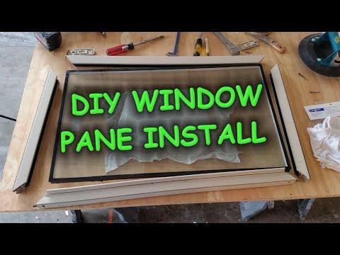 DIY Window Pane Install