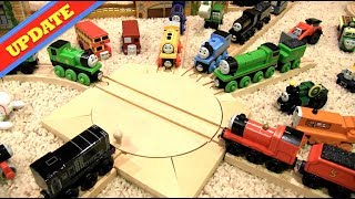 Racing Vinnie Thomas And Friends Wooden Toy Train Review