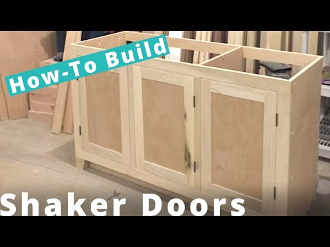 Behind the Scenes - Making a Shaker Cabinet Doors