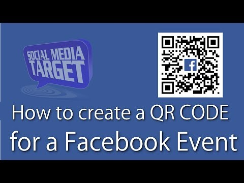 How to create a QR code for your Facebook Event