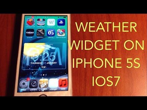 iWidget - Get Widgets On Your iPhone 5S/5/5C 4S/4  IOS7 (2014)