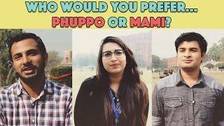 Bolo Pakistan | Who do you prefer... Phuppo or Mami? | MangoBaaz