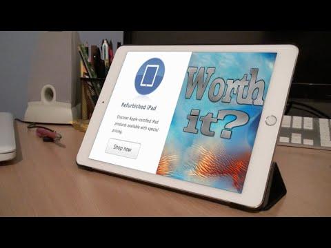 Are Refurbished iPads Worth it? (iPad Air 2 Wifi 64gb)