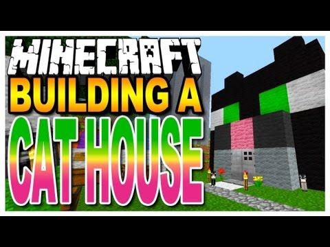 Minecraft - Cat House Tutorial - Easy Build