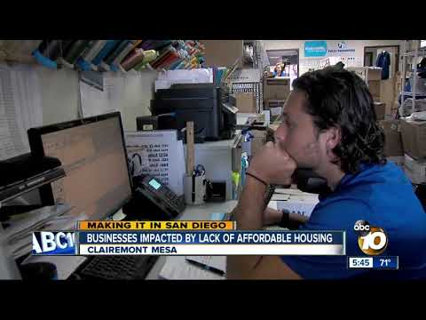Making  It in San Diego: Businesses Affected by Lack of Affordable Housing