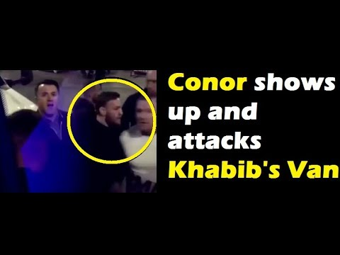 Conor Mcgregor attacks Khabibs Van | Chiesa Gets cut up