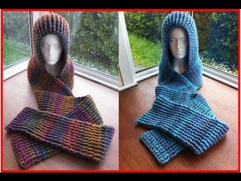 How To Knit A Scarf With A Hood Pr Scoodie Part 1 Of 2 With Ruby