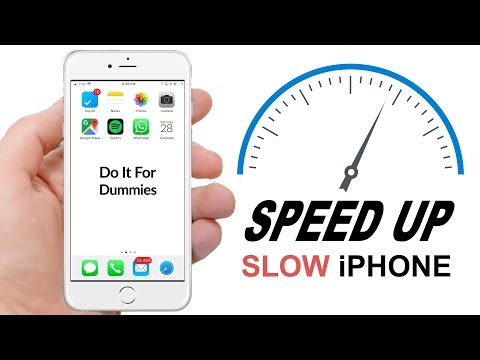 How to SPEED UP slow iPhone in MINUTES!