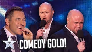 This guy is a standup PRODIGY!   Auditions   BGT Series 9