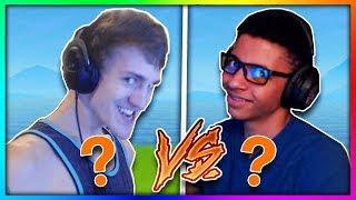NINJA vs MYTH BATTLE! (WHO WILL WIN?) Fortnite Battle Royale