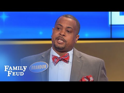 Guys... getting a divorce? Better get THIS | Family Feud